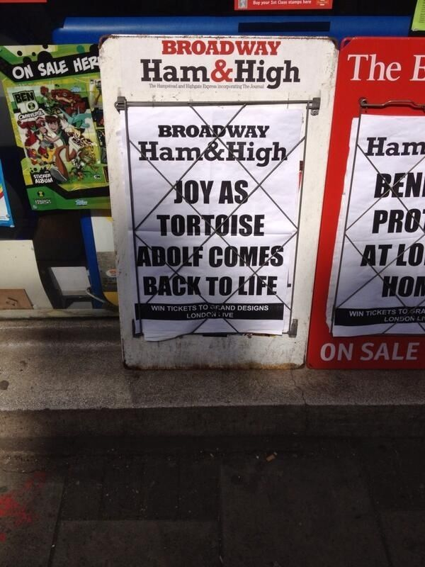 Local Newspaper Headline Of TheDay