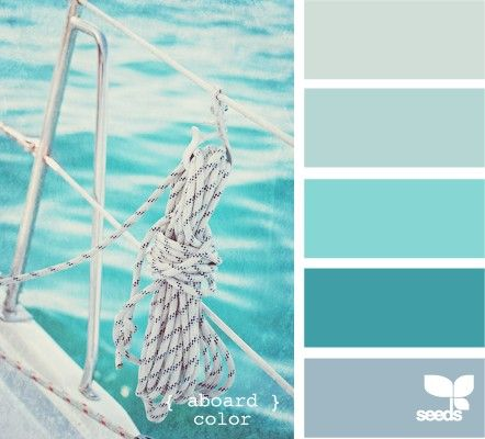 11 Peaceful Paint Palettes Inspired By The Sea