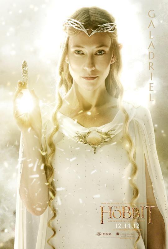 The Hobbit - Kate Blanchett as Galadriel