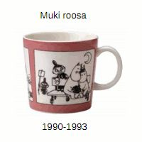 "Muki Roosa (1990-1993) (""sarjakuva"")"