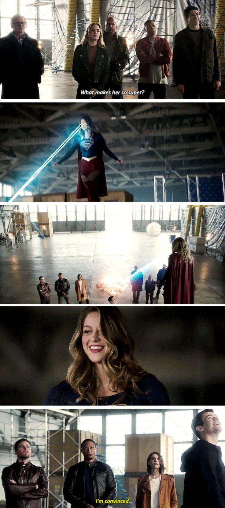 """Everybody this is my friend Kara Danvers or as she's known on her earth, Supergirl."" - 4 Nights Crossover Event Sneak"