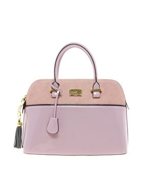 Pauls Boutique Maisy Suede Patent Bag - $115