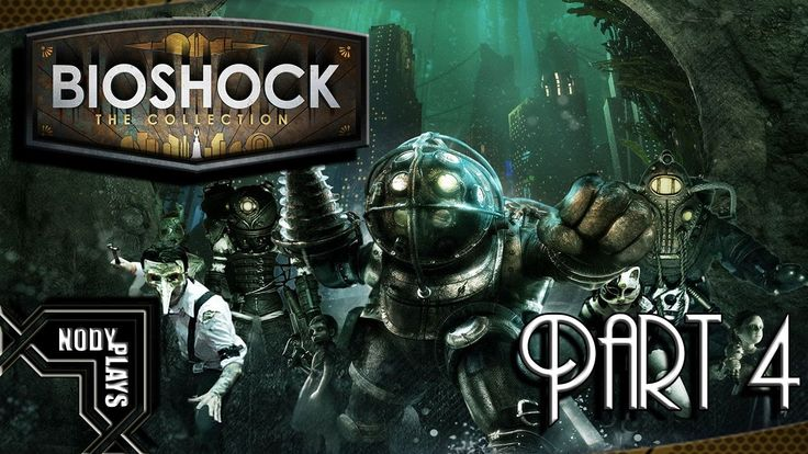 Bioshock The Collection Gameplay Walkthrough Part 4 - Save The Little Si...