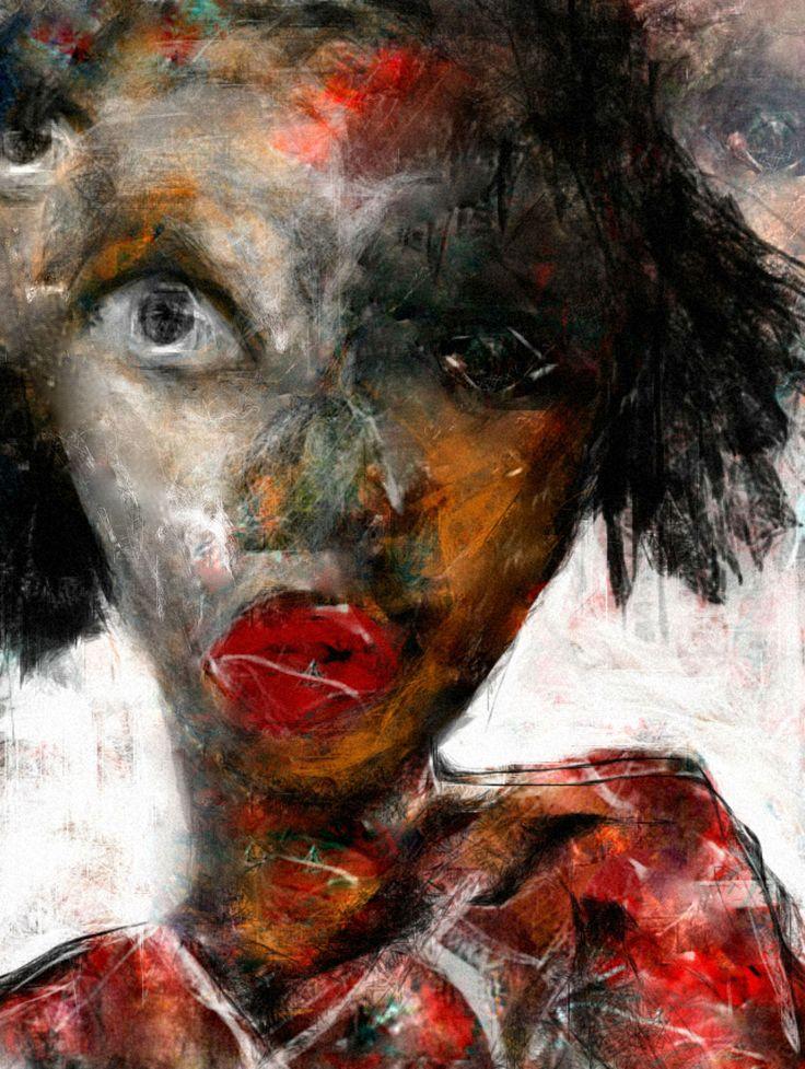 """""""Getto Girl"""" By Artist Ruth Clotworthy"""