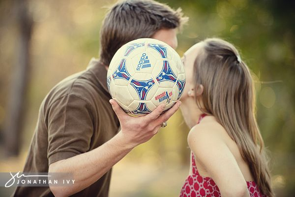 Soccer Engagement Photo
