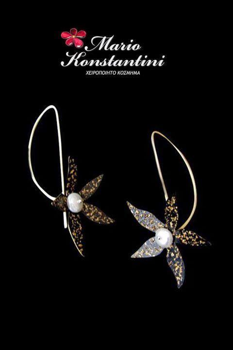 Mario Konstantini - Google+ #earrings #jewelry #gold