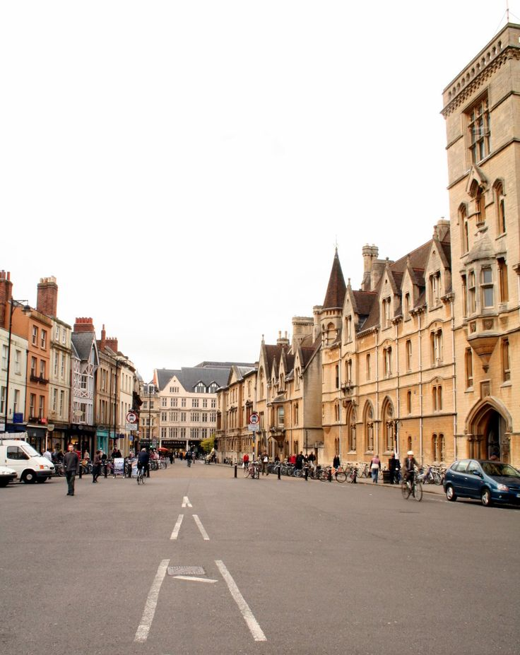 Oxford City & University, UK