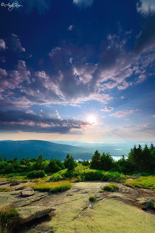 Acadia National Park Cadillac Mountain by Andy Kim on 500px