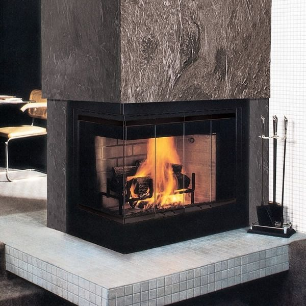 33 best images about fireplace on pinterest open for Open sided fireplace