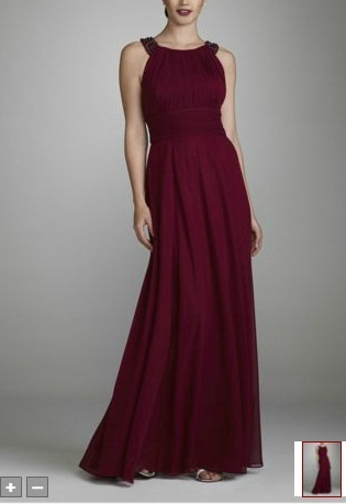 Long Wine Colored Dress Wines Pinterest Mom Wine