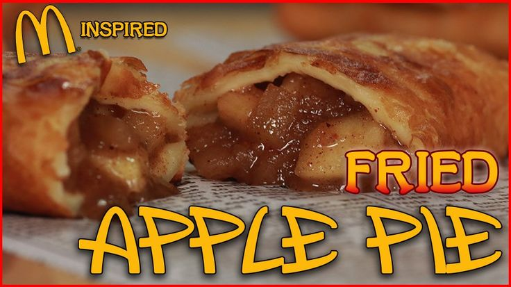 Deep-Fried Apple Pies Inspired by McDonald's: If you grew up with McDonald's deep-fried apple pies, you know that their current baked iteration, while still tasty, barely holds a candle to their crisp, flaky-crusted progenitors.