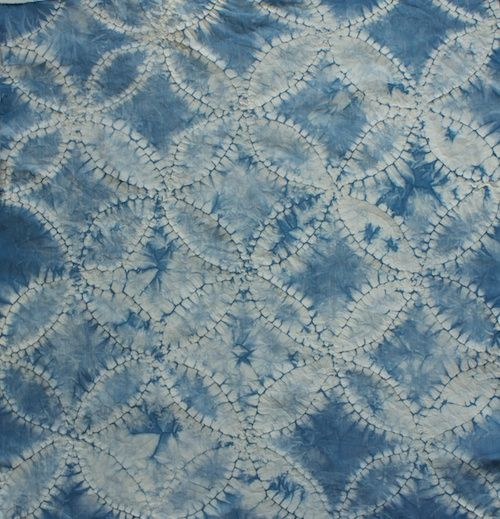 Shibori stitch resist textile dye method    tutorial by Kristiann of Victory…
