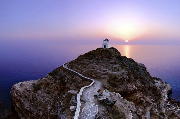 Seven Martyr's chapel, Sifnos island,Greece.
