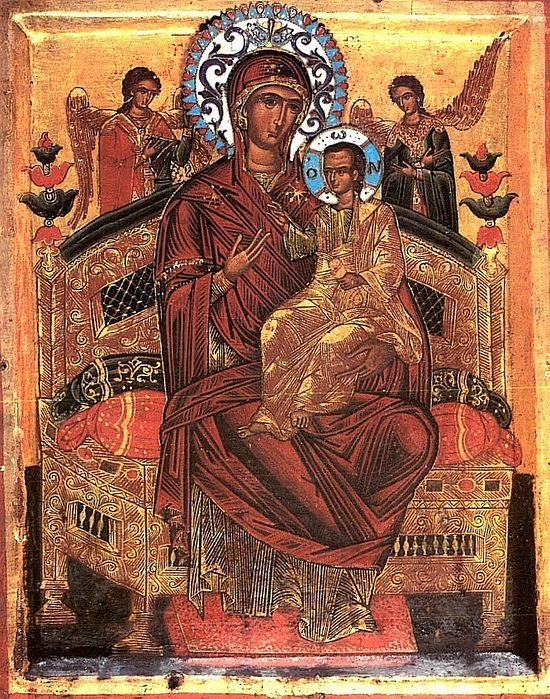 Our Lady Pantanassa at The Great and Holy Monastery of Vatopaidi