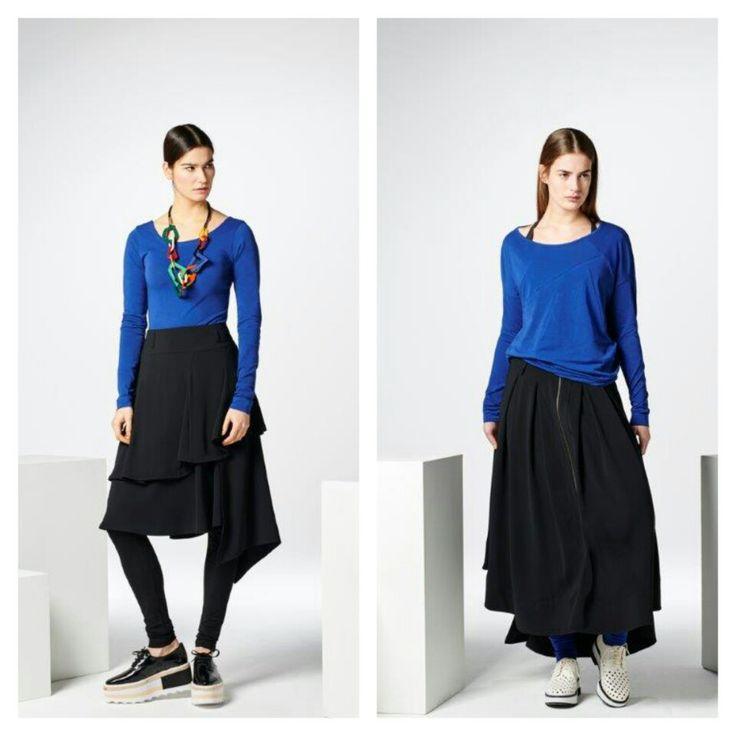 #blue #skirt #skirts #shop #instore #online #corakemperman #collection #Amsterdam #Utrecht #Rotterdam #Antwerpen #Breda #Gent #Arnhem #Brussel en #Maastricht #corakemperman www.corakemperman.nl