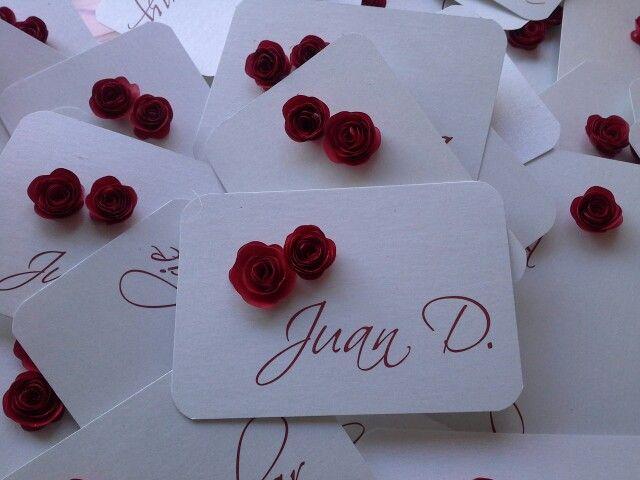 Marcador invitado. Rosita roja