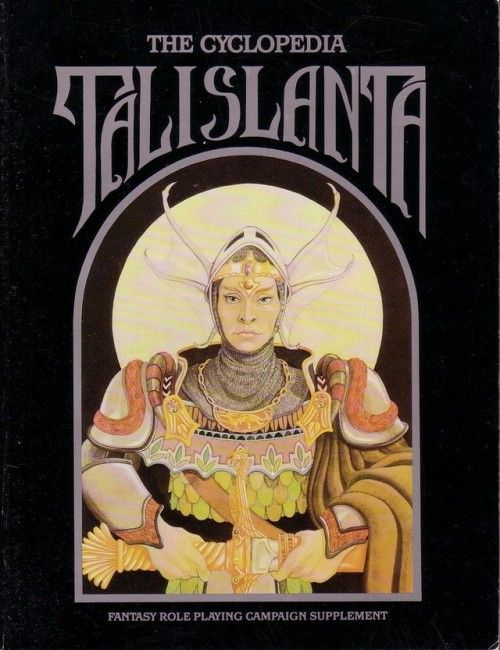 Talislanta: The Cyclopedia Talislanta ~ Bard Games (1988)  You can freely download almost every Talislanta book from here.