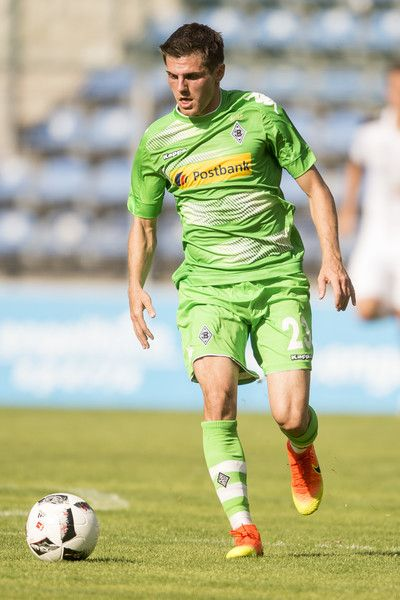 Jonas Hofmann of Borussia Moenchengladbach  during the friendly match between SV Waldhof Mannheim and Borussia Moenchengladbach at Carl-Benz Stadium on July 9, 2016 in Mannheim, Germany.