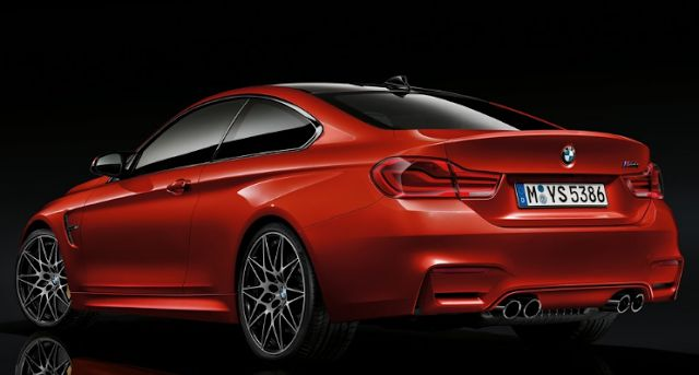 2018 BMW M4 Coupe Back