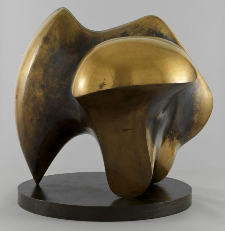 Henry Moore 'Working Model for Three Way Piece No.1: Points' 1964