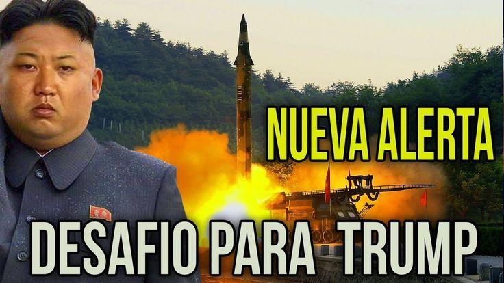 Norcorea desafia claramente a Trump  https://youtu.be/j8w8U3FZDSc