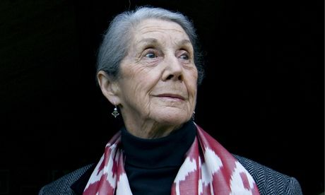 Nadine Gordimer dies aged 90 - Nadine Gordimer pictured in 2010. Photograph: Martin Argles for the Guardian