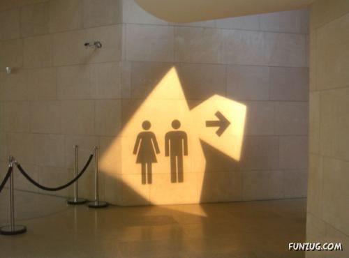 sinais banheiros