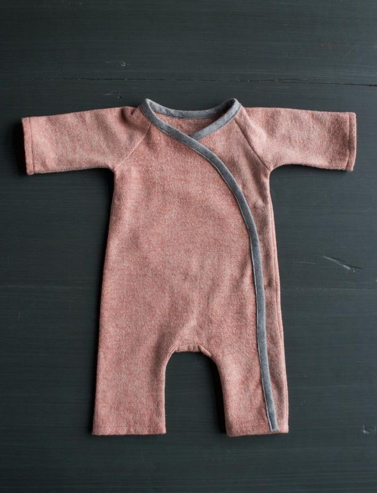 Sewn Layette Set Pattern