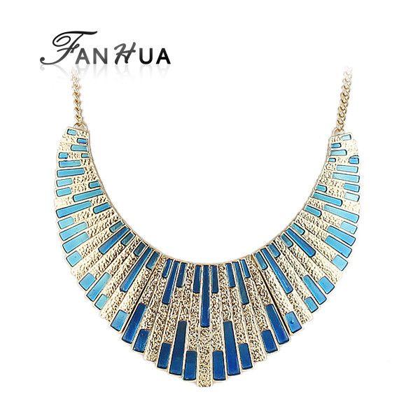 Collar Gargantilla Azul / Blue Choker Necklace