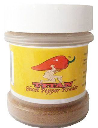 Traditional TITAN Bhut Jolokia (Ghost) Powder - Very Hot, ,