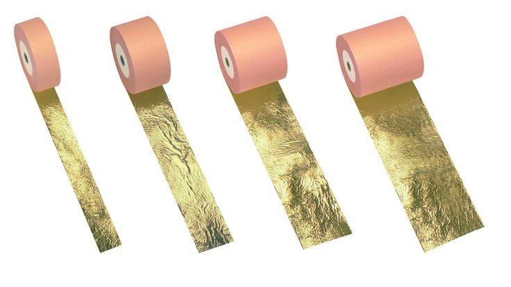 Corso di doratura:  8 - Foglia oro in bobina