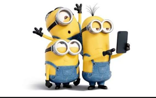 selfie with friends