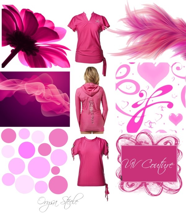 """""""Pretty in Pink"""" by uvcouture on Polyvore"""