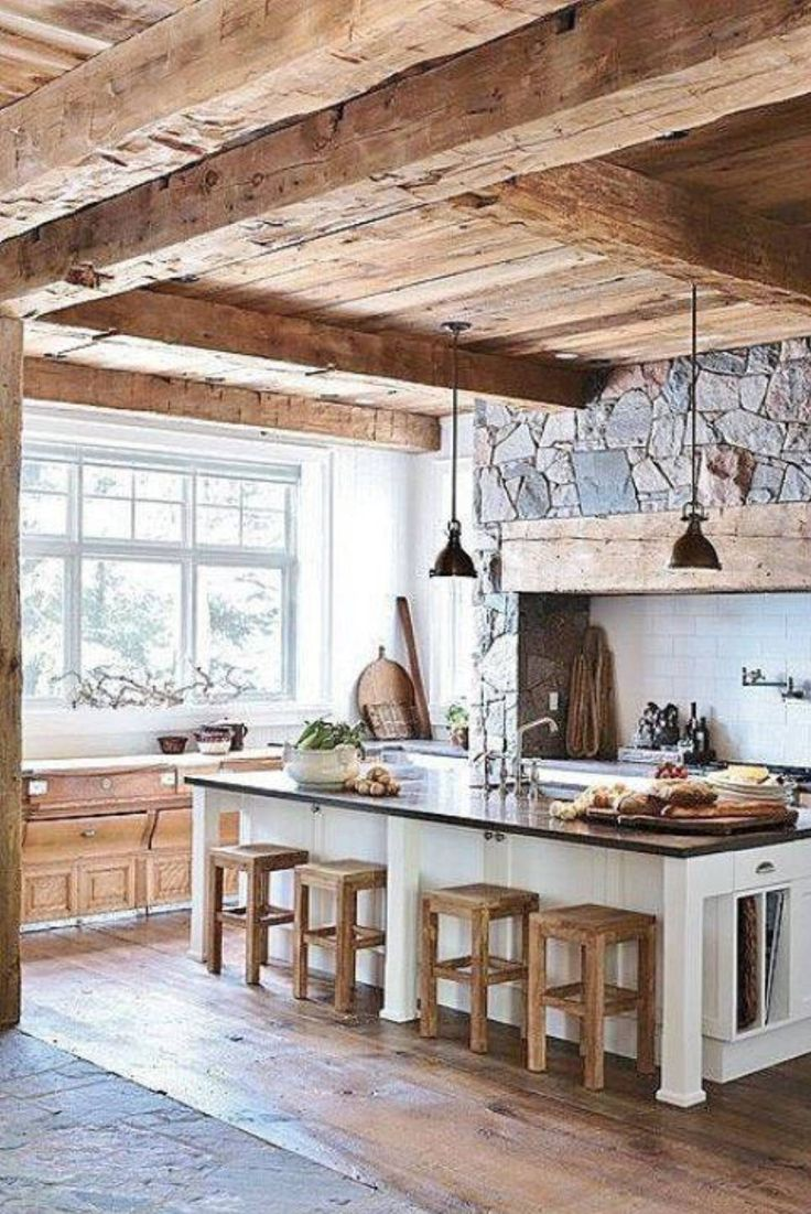 Interesting Rustic Kitchens The rustic kitchens