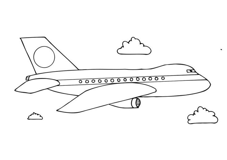Airplane Coloring Pages 1645 Free Printable