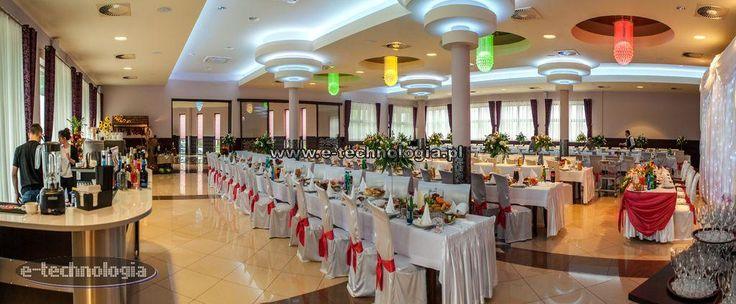 sufity podwieszane sala weselna - sufity napinane sala weselna - nowoczesne sufity sala weselna e-technologia