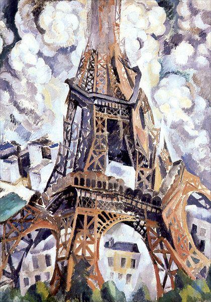 Robert Delaunay, La Tour Eiffel, 1909