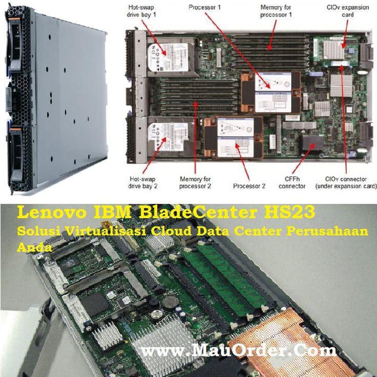 Server Blade 2 socket, processor Intel® Xeon® E5-2600, kapasitas RAM 512 GB (maksimal). Lenovo BladeCenter dapat mengurangi biaya operasional bisnis anda.