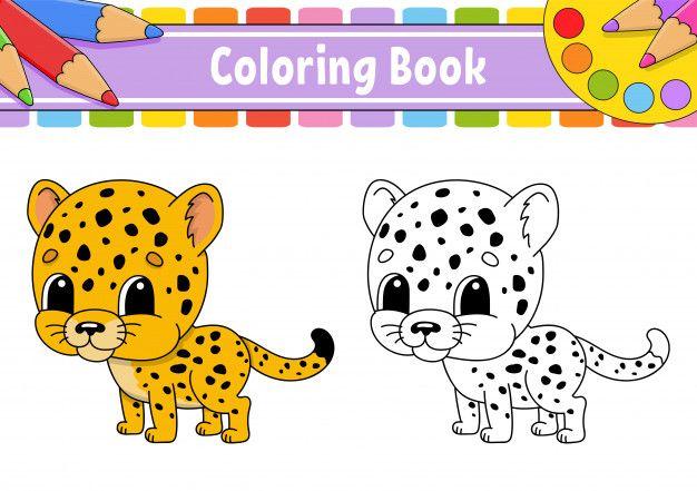Coloring Book For Kids Premium Vector Free Vector Freepik Freevector Background Baby Book Kids Coloring Books Vector Free Color