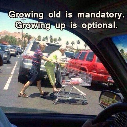 Growing Old Is Inevitable