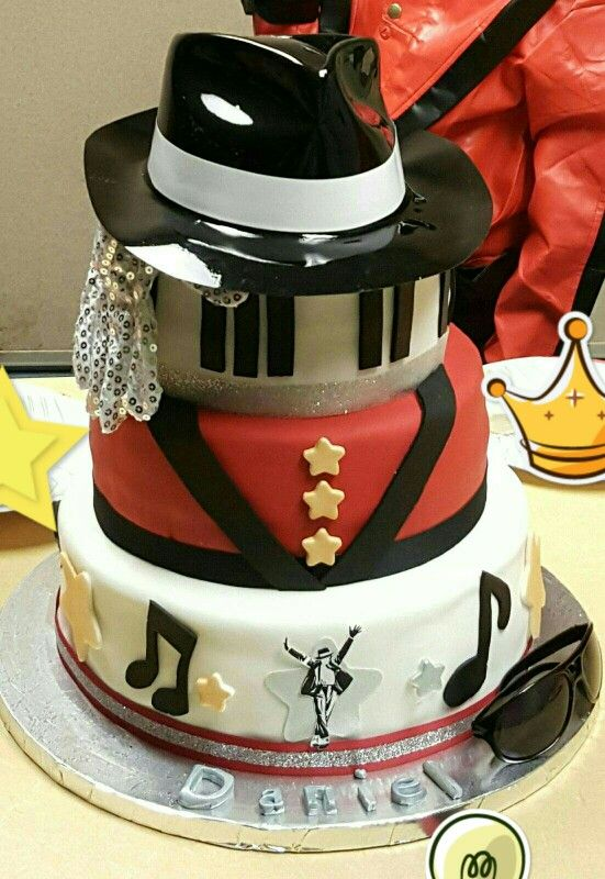Birthday Michael Jackson Cake 2014