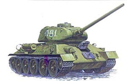 ZVEZDA Model Tank Kit 3533 Soviet T-34/85 Medium Tank 1/35 Scale