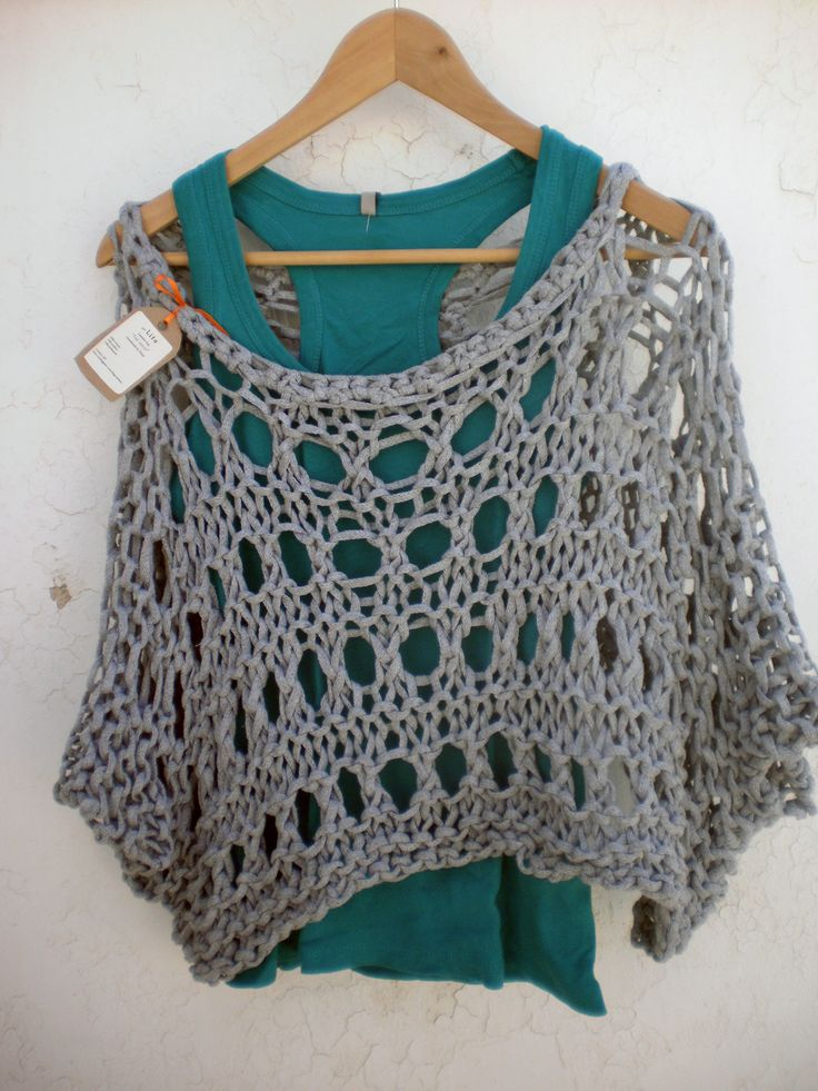 My first knitted summer top.