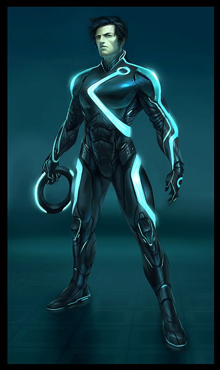 Brighten Up Your Morning With This Brilliant Tron Art