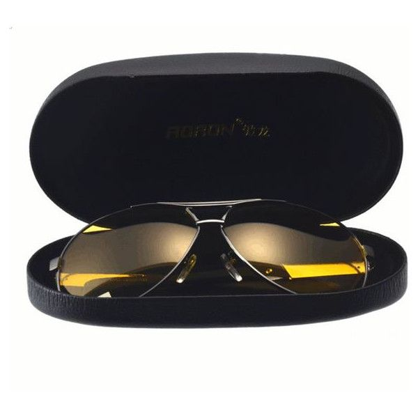 s Unisex Casual Night Vision Polarized Sunglasses UV400 Protection... (£9.78) ❤ liked on Polyvore featuring accessories, eyewear, sunglasses, anti glare sunglasses, mirror glasses, lens glasses, unisex glasses and anti glare glasses