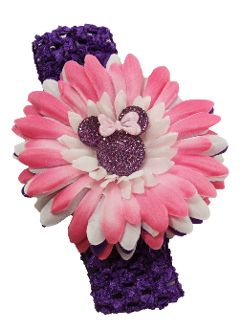 minnie embellished embellished hair 4 minnie headband 2 crochet ...