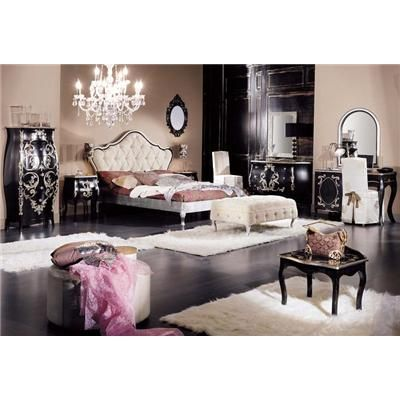 old hollywood glamour home decor pinterest old world glamour bedroom and dream bedroom. Black Bedroom Furniture Sets. Home Design Ideas