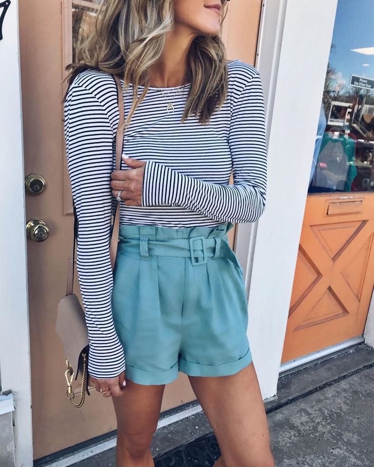 #ootd #stripes #shorts #springstyle