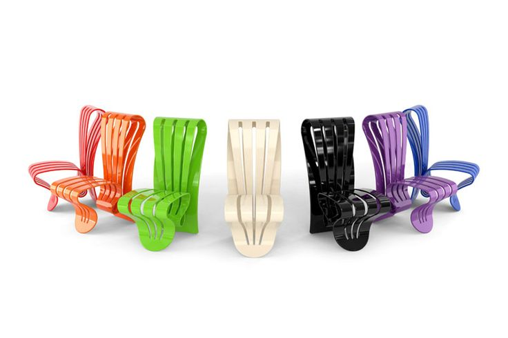 Leaf Collection by Giancarlo Zema for Luxyde. Like bending leaves, soft and flexible, this high scultural series of table and chair are realized in DuPont™ Corian®. A contemporary material shapes precious unique pieces, brightly coloured, like the flexible-backed chair that fits itself to the body. The collection is an exclusive signed and numered limited edition of n.120 chairs and n.60 tables. #GiancarloZema #CorianDesign #LuxuryDesign #DesignArt #LimitedEdition #Luxyde