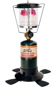 TEXSPORT CO Double Mantle Insta-Light Propane Lantern, EA